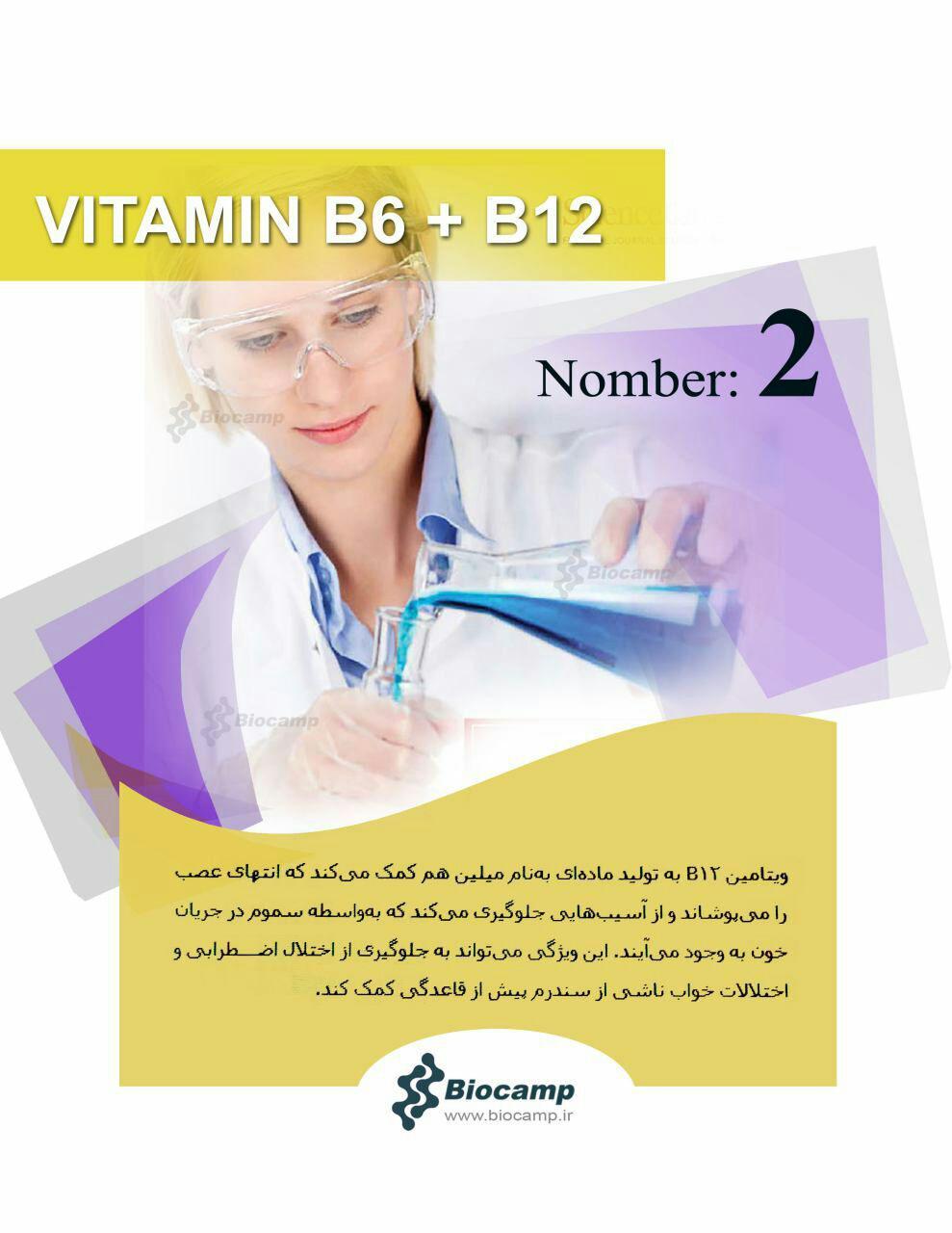 نقش ویتامین ها بر بدن نقش ویتامین های B6 و B12 بر بدن نقش ویتامین های B6 و B12 بر بدن photo 2016 10 03 23 08 28